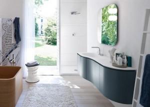 L elegante linea da bagno my seventy plus l 39 arredo bagno - Modifica vasca da bagno con sportello ...