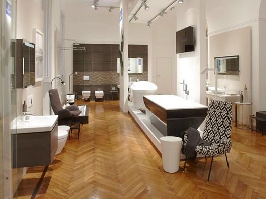 Un bagno dal profumo provenzale alla maison du monde l for Mobili per la sala